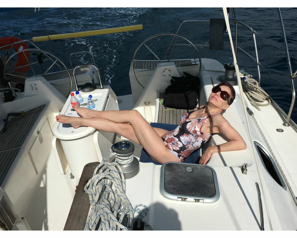 Mature Sensual Sailing Away with Nikki West