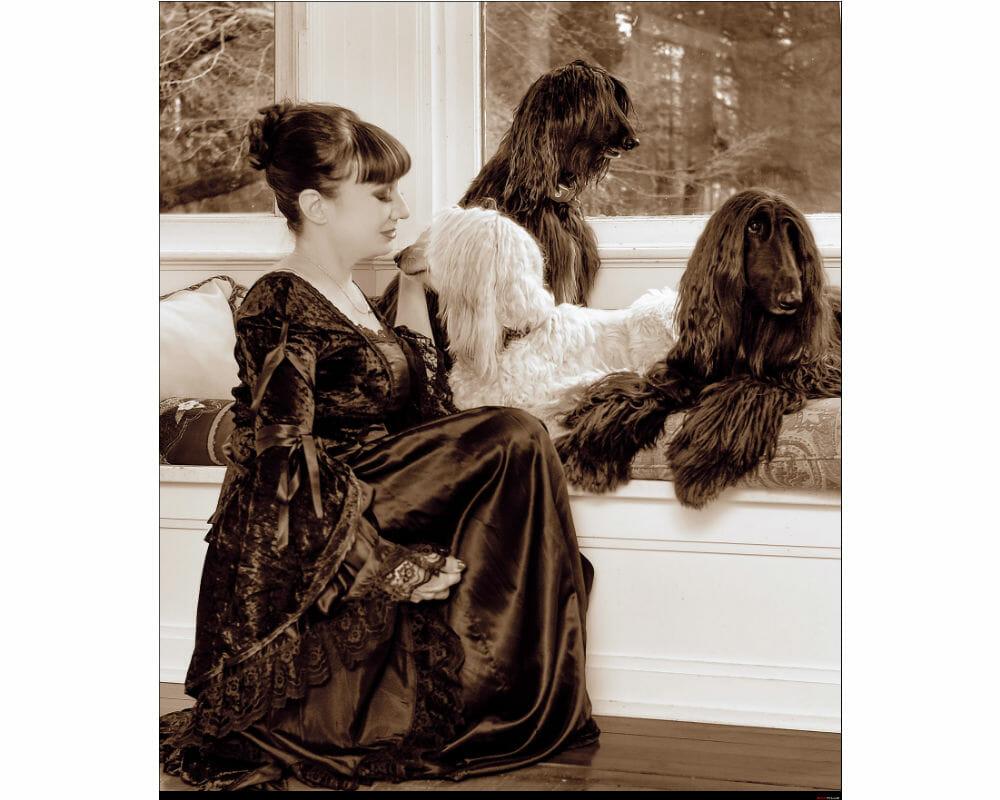Mature Sensual Nikki West Afghan Westchester Companion